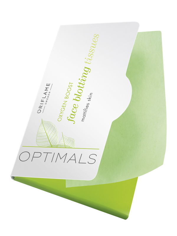 Toallitas Faciales Matificantes Oxygen Boost Optimals