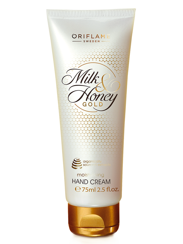 Crema de Manos Hidratante Milk & Honey Gold