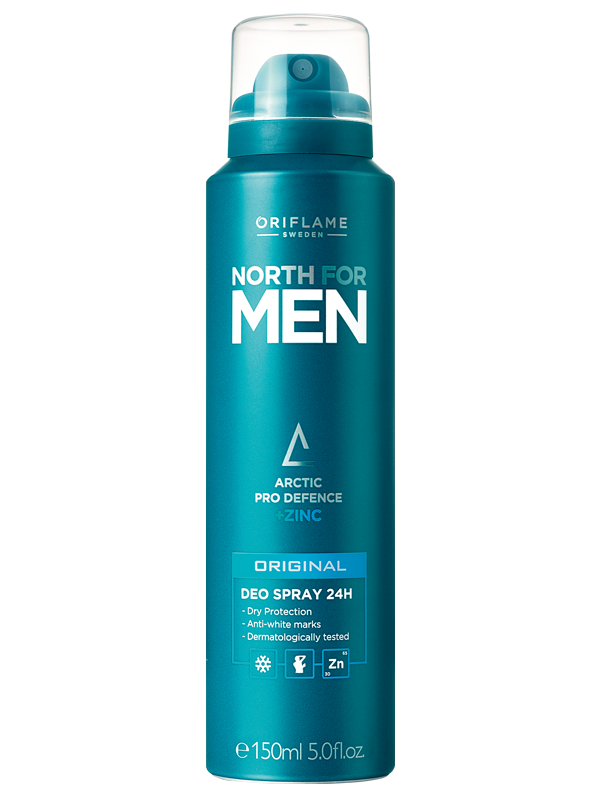 Desodorante en Spray 24H  North for Men Original