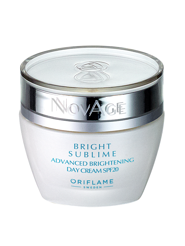 Crema de Día Aclaradora Antimanchas FPS 20 NovAge  Bright Sublime