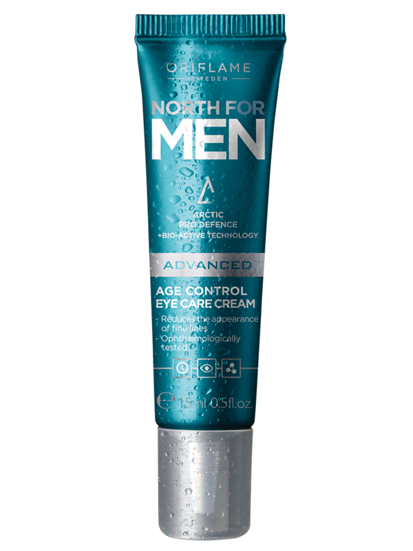 Crema para el Contorno de los Ojos Antienvejecimiento North For Men Advanced