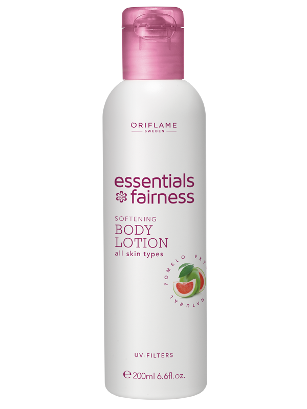 Loción Corporal Hidratante con Filtros UV Essentials Fairness
