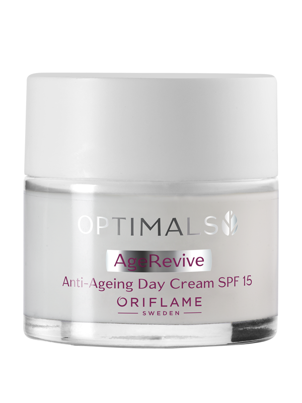Crema de Día Antienvejecimiento FPS 15 Age Revive Optimals