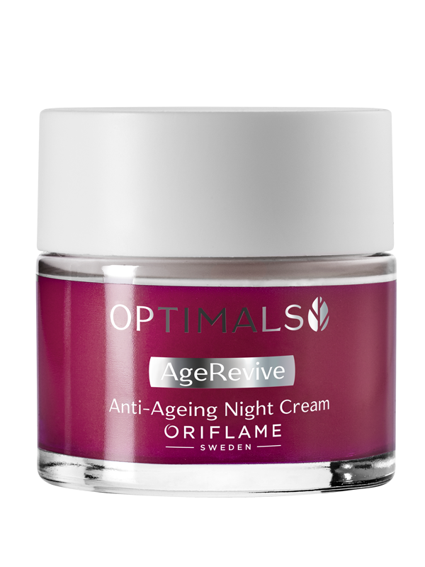 Crema de Noche Antienvejecimiento Age Revive Optimals