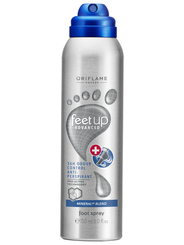 Spray para Pies Antitranspirante 36 Horas Feet Up Advanced
