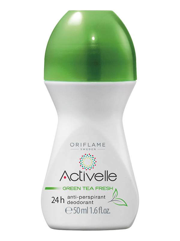 Desodorante Antiperspirante en Roll-On 24H Té Verde Activelle