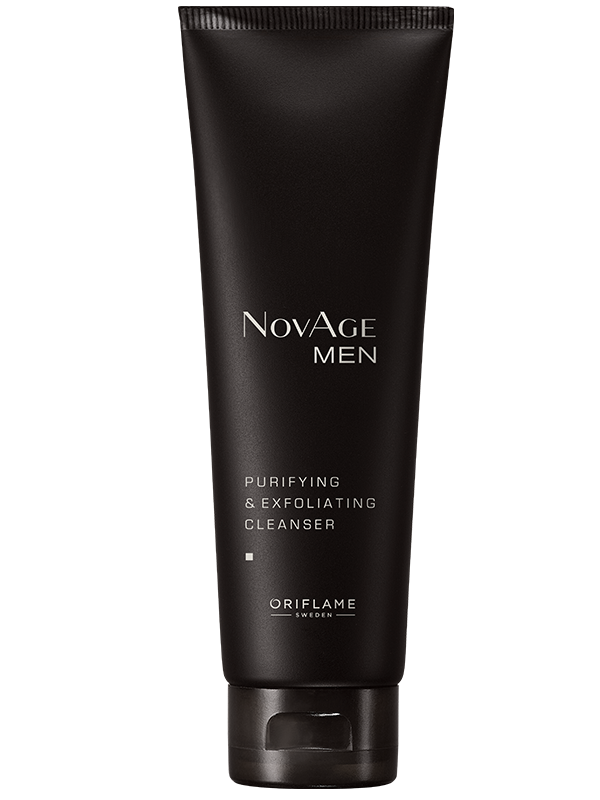 Limpiadora Purificante Exfoliante NovAge Men