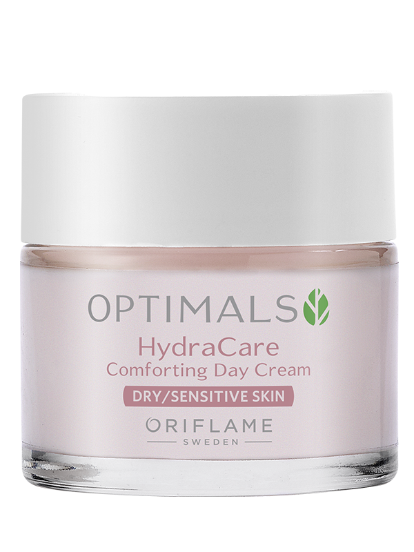 Crema de Día para Piel Seca y Sensible Optimals Hydra Care