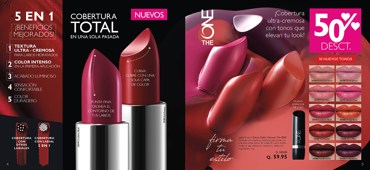 Labial 5 en 1 Colour Stylist Ultimate The ONE