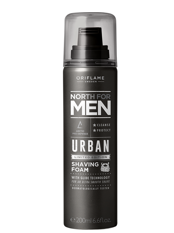 Espuma de Afeitar  North For Men Urban