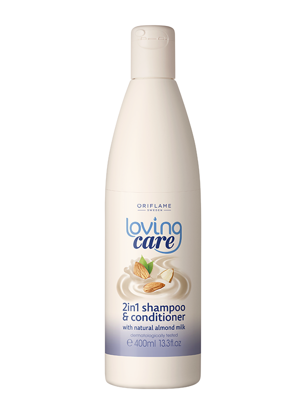 Shampoo y Acondicionador 2 en 1 Loving Care