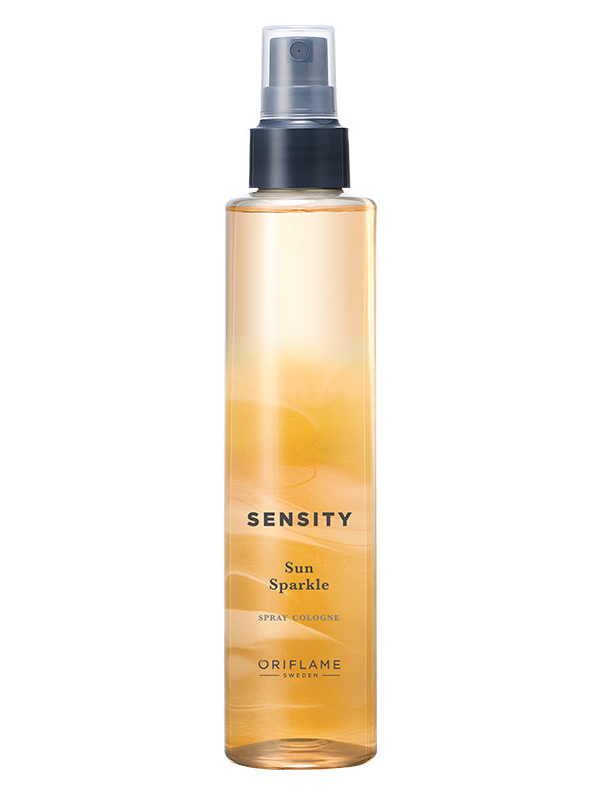 Sun Sparkle  Spray Cologne Sensity