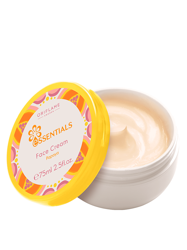 Crema Facial con Papaya Essentials