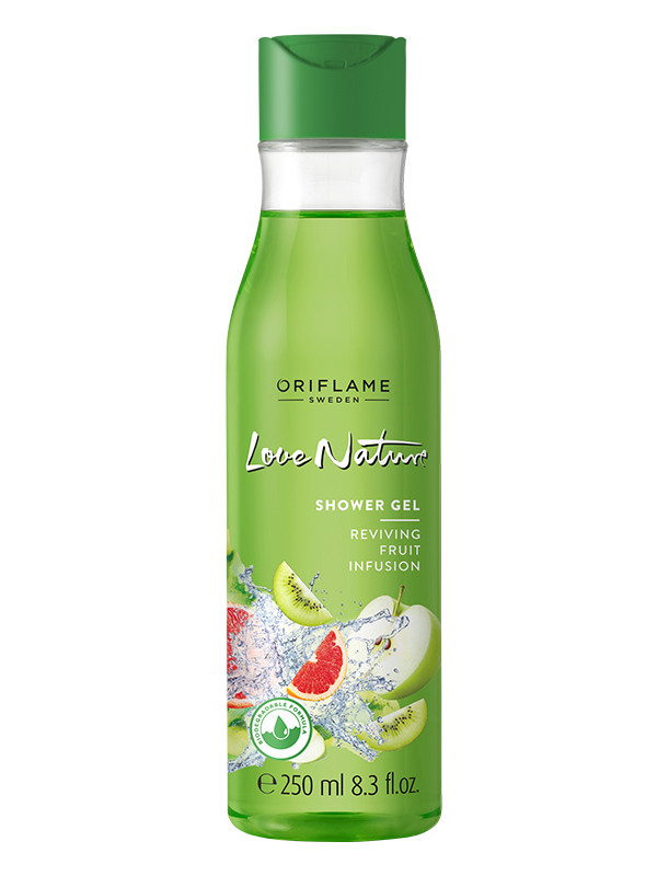 Gel de Ducha con Infusión de Frutas Love Nature