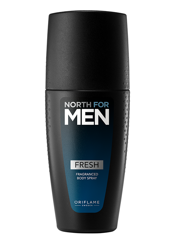 Fragranced Body Spray North For Men Fresh