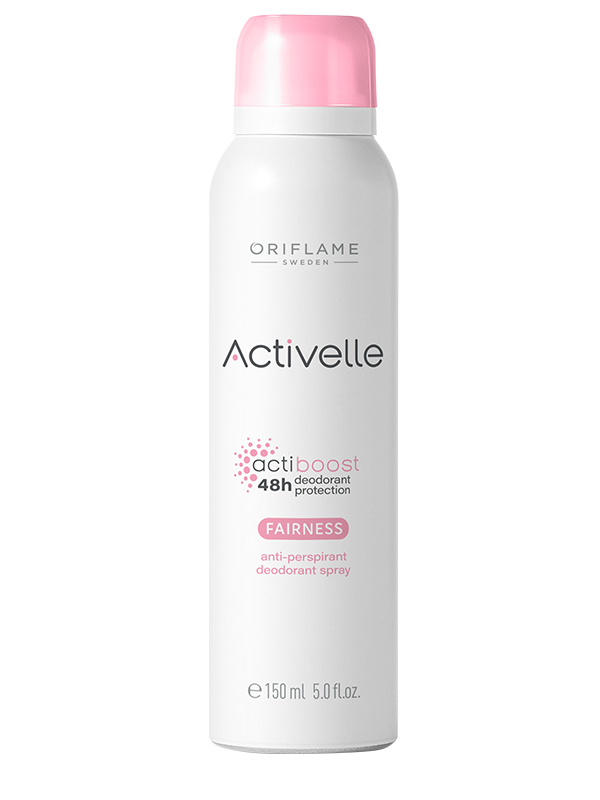Desodorante Antitranspirante  Fairness en Spray 48H Activelle