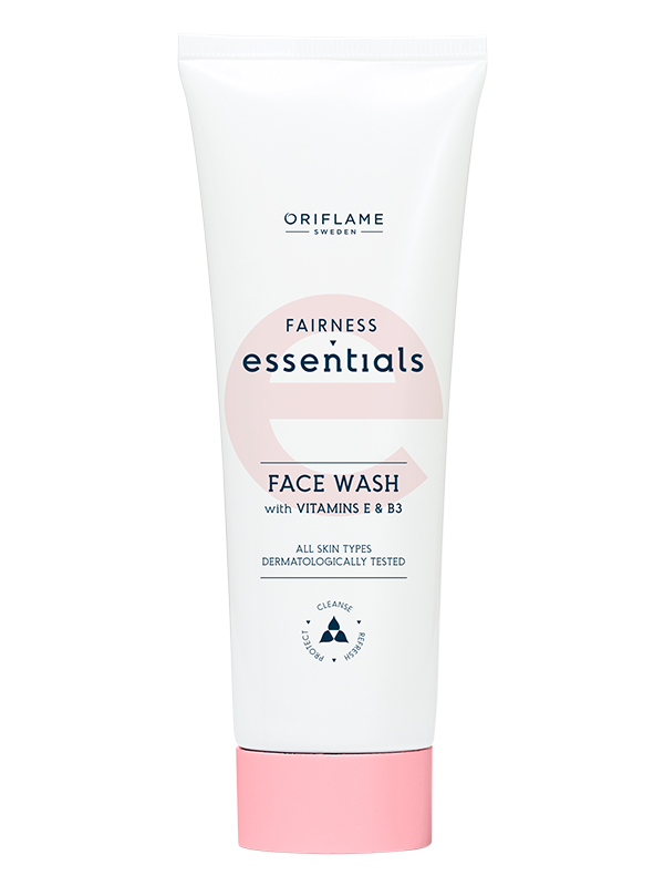 Limpiadora Facial con Vitaminas E y B3 Essentials Fairness