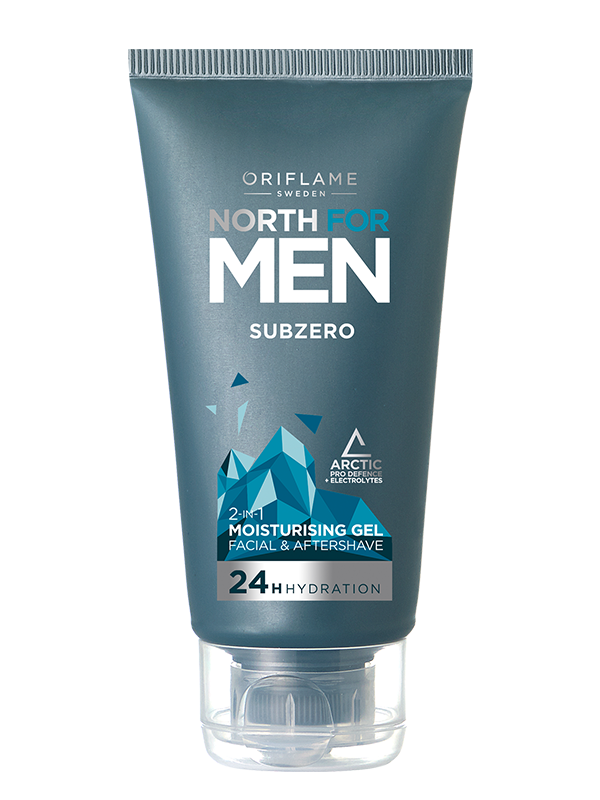 Gel Hidratante y Bálsamo 2 en 1 North For Men SubZero