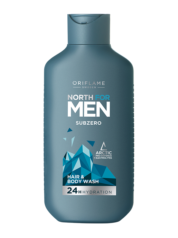 Gel de Ducha y Shampoo 2 en 1 North For Men SubZero