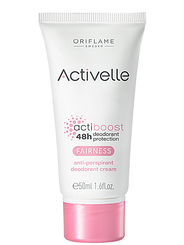 Desodorante Antitranspirante Fairness en Crema Activelle 48H