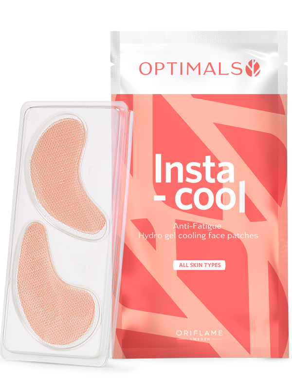 Parches Faciales Refrescantes Antifatiga Optimals Insta-cool