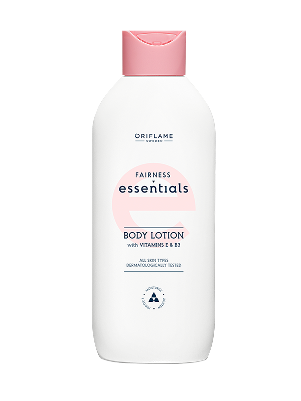 Loción Corporal con Vitamina E y B3 Fairness Essentials