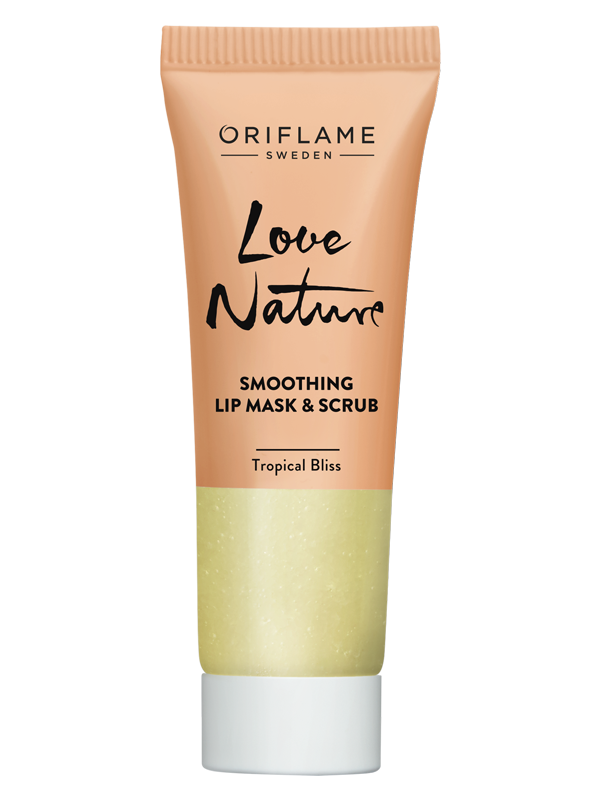 Mascarilla y Exfoliante para Labios Tropical Bliss Love Nature