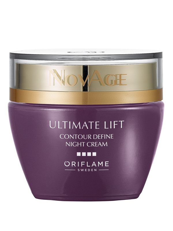Ultimate Lift Crema de Noche Nutritiva Anti-Arrugas Reafirmante Efecto Lifting NovAge